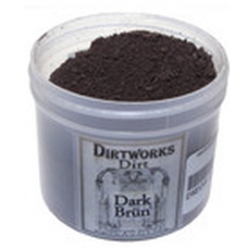 Dirtworks dark brun dirt powder