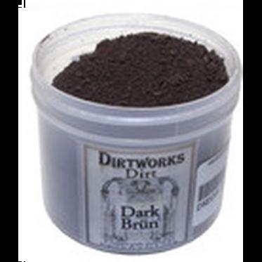 Dirtworks dark brun dirt powder