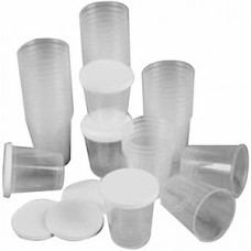 Cups and lids (small)
