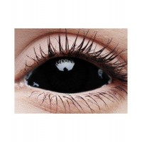 BLACK SCLERA 22 mm lenses