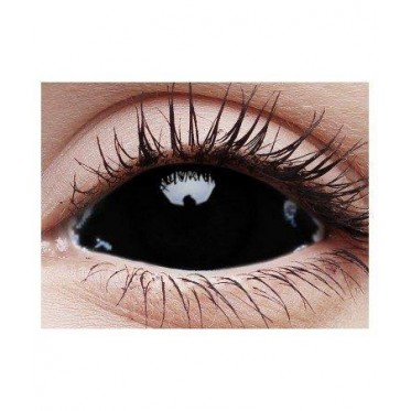 Black Sclera contact lenses 22 mm