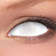 WHITE BLIND SCLERA 22mm lenses