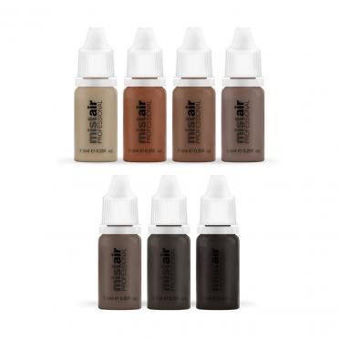 Mistair airbrush eyebrow starter pack