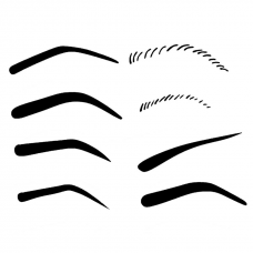 Mistair professional eyebrow templates