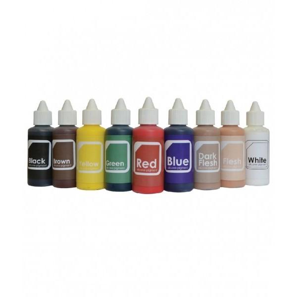 silicone pigments