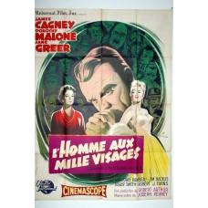 L'HOMME AUX MILLE VISAGES - J. Penvey - 1957