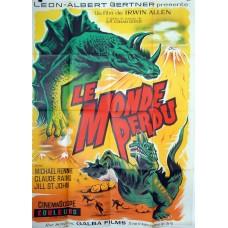 LE MONDE PERDU - Irwin Allen - 1960