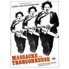 MASSACRE A LA TRONCONNEUSE - Tobe Hoper - 1974