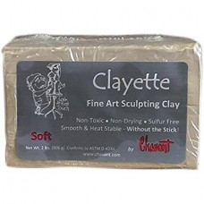 CHAVANT CLAYETTE SCUPTING CLAY MEDIUM