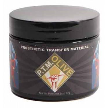 Prosthetic transfer material olive