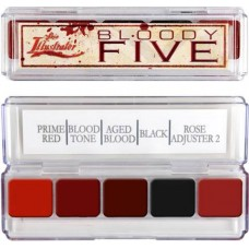 Bloody five skin palette