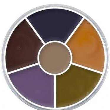 Kryolan bruise wheel palette