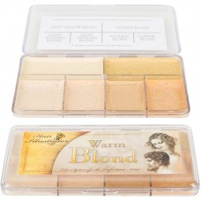 Hair Illustrator warm blonde palette