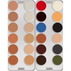 Kryolan 24 Color RMG PRO Palette