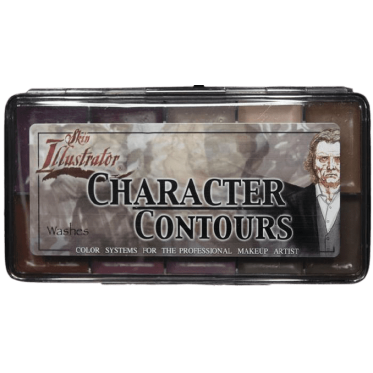 ALCOOL SKIN ILLUSTRATOR CHARACTER CONTOURS washes