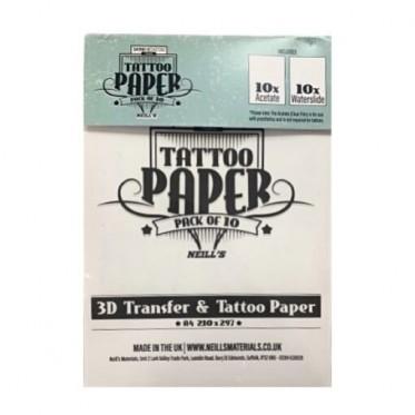 TATOO & PTM TRANSFER  PAPER