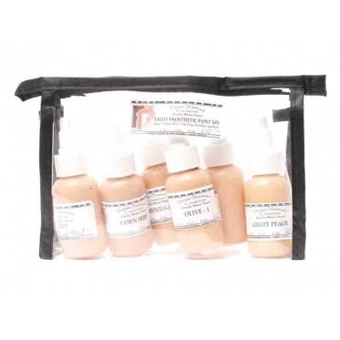 Light prosthetic paint kit